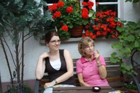 Grillen bei Moni und Patrick – Allegro war dabei!