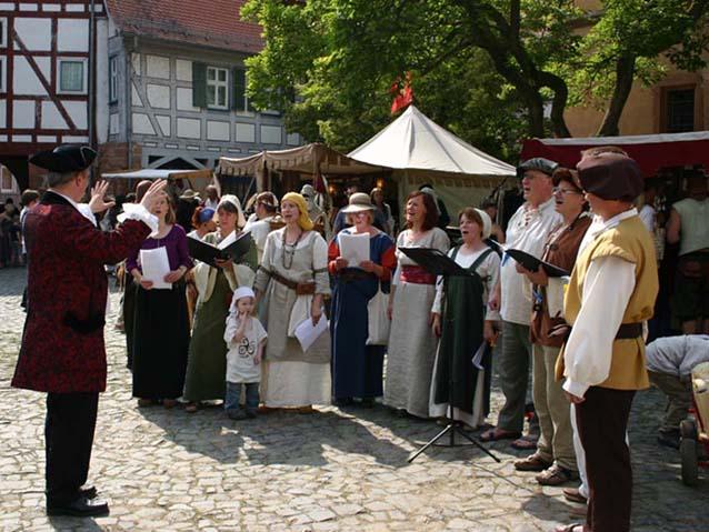 Mittelalterfest 2013 in Büdingen – Allegro war dabei!